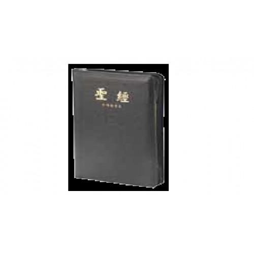 聖經 台語漢字/皮面拉鍊.拇指索引.金邊