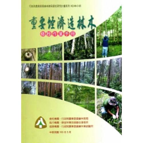 重要經濟造林木修枝作業手冊