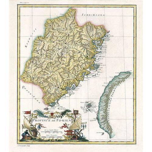 Province de Fo-kien「福建省圖」