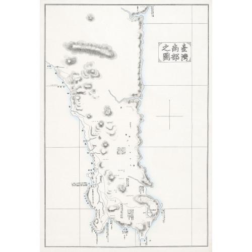 臺灣南部之圖