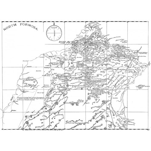 North Formosa「北臺灣地圖」