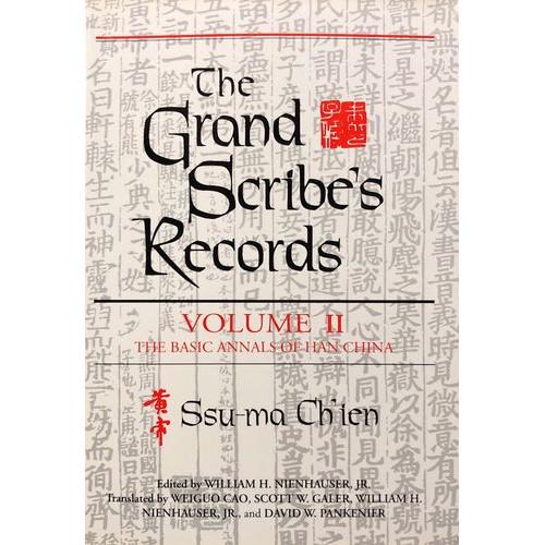 The Grand Scribe's Records, vol. 2   史記英譯,卷2