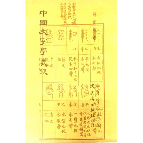 中國文字學叢談