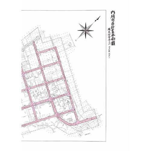 內埔市區計畫平面圖-1935