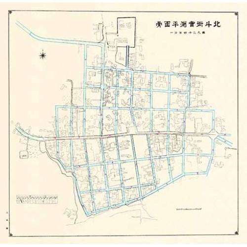 北斗街實測平面圖-1912