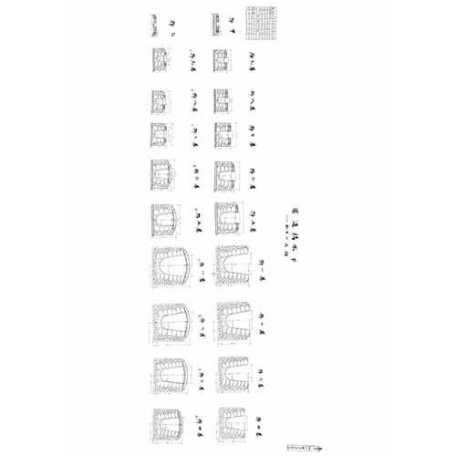 (北港)下水構造圖-1913