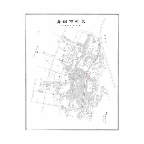 北港市街圖-1913