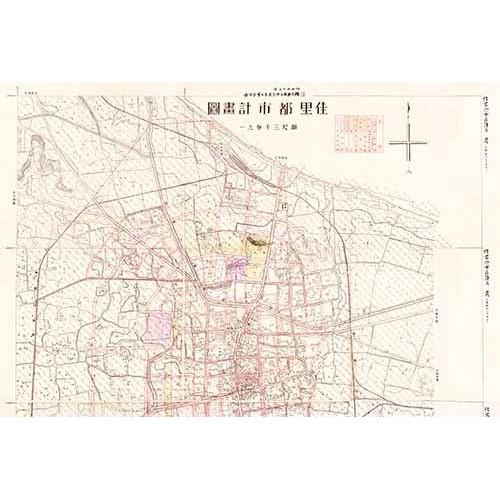 佳里都市計畫圖-1937