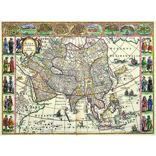 亞洲全圖 (1660年版)