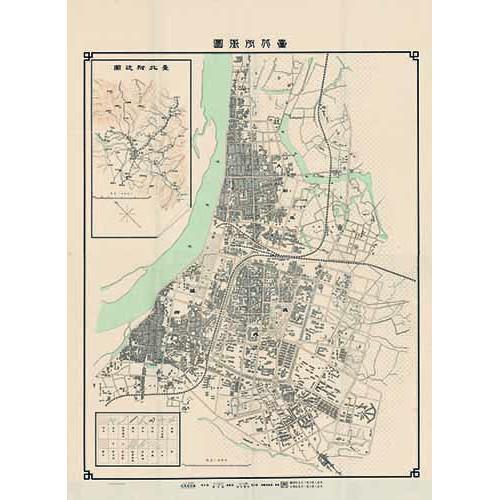 台北市街圖 (1914年版)