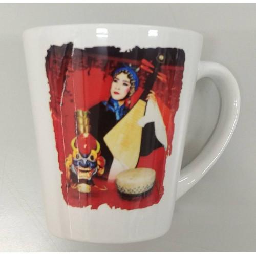 「台灣戲劇館圖騰」錐形馬克杯