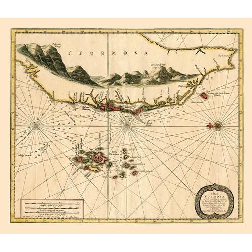 L'île de Formosa 福爾摩沙島圖