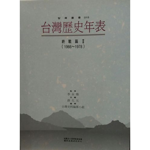 台灣歷史年表終戰篇2